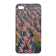 Repetition Retro Wallpaper Stripes Apple iPhone 4/4s Seamless Case (Black)