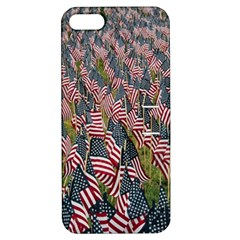 Repetition Retro Wallpaper Stripes Apple iPhone 5 Hardshell Case with Stand