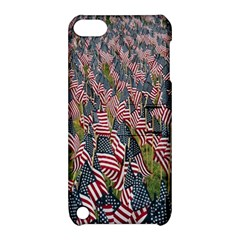 Repetition Retro Wallpaper Stripes Apple iPod Touch 5 Hardshell Case with Stand