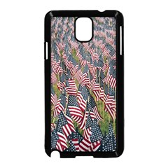 Repetition Retro Wallpaper Stripes Samsung Galaxy Note 3 Neo Hardshell Case (Black)