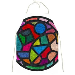 Stained Glass Color Texture Sacra Full Print Aprons