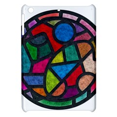 Stained Glass Color Texture Sacra Apple iPad Mini Hardshell Case