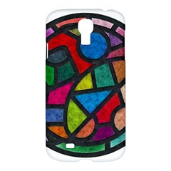 Stained Glass Color Texture Sacra Samsung Galaxy S4 I9500/i9505 Hardshell Case