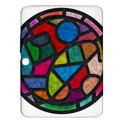 Stained Glass Color Texture Sacra Samsung Galaxy Tab 3 (10.1 ) P5200 Hardshell Case