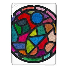 Stained Glass Color Texture Sacra iPad Air Hardshell Cases