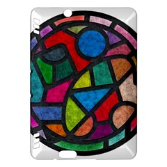 Stained Glass Color Texture Sacra Kindle Fire Hdx Hardshell Case