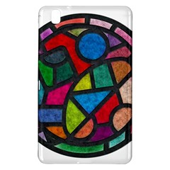 Stained Glass Color Texture Sacra Samsung Galaxy Tab Pro 8 4 Hardshell Case