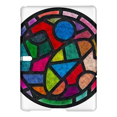 Stained Glass Color Texture Sacra Samsung Galaxy Tab S (10.5 ) Hardshell Case