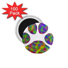 Paw 1 75  Magnets (100 Pack)