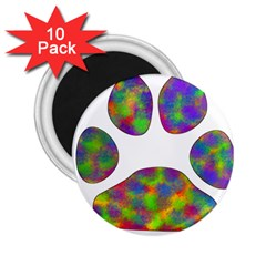 Paw 2 25  Magnets (10 Pack)