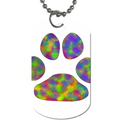 Paw Dog Tag (Two Sides)