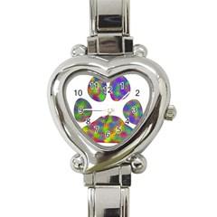 Paw Heart Italian Charm Watch