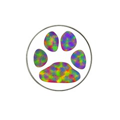 Paw Hat Clip Ball Marker (4 pack)