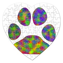 Paw Jigsaw Puzzle (heart)