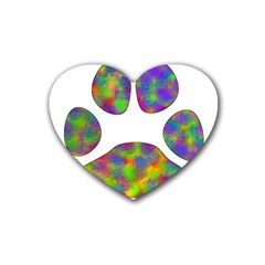 Paw Heart Coaster (4 Pack)