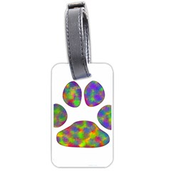 Paw Luggage Tags (one Side)