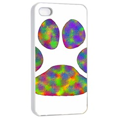 Paw Apple Iphone 4/4s Seamless Case (white)