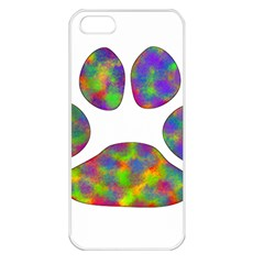 Paw Apple iPhone 5 Seamless Case (White)