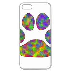 Paw Apple Seamless Iphone 5 Case (clear)