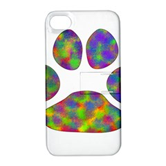 Paw Apple iPhone 4/4S Hardshell Case with Stand