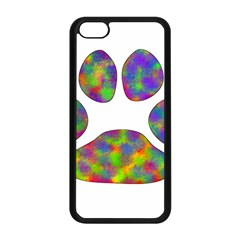 Paw Apple iPhone 5C Seamless Case (Black)