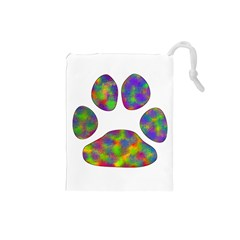 Paw Drawstring Pouches (Small)