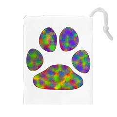 Paw Drawstring Pouches (Extra Large)