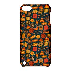Pattern Background Ethnic Tribal Apple Ipod Touch 5 Hardshell Case With Stand