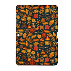 Pattern Background Ethnic Tribal Samsung Galaxy Tab 2 (10.1 ) P5100 Hardshell Case