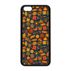 Pattern Background Ethnic Tribal Apple Iphone 5c Seamless Case (black)