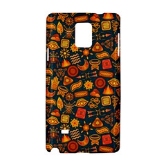 Pattern Background Ethnic Tribal Samsung Galaxy Note 4 Hardshell Case