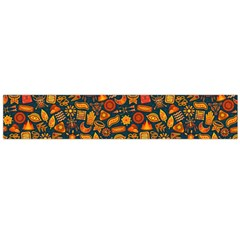 Pattern Background Ethnic Tribal Flano Scarf (Large)
