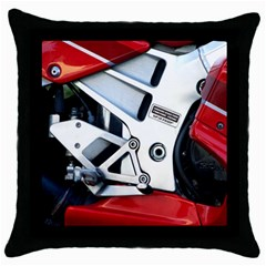 Footrests Motorcycle Page Throw Pillow Case (Black)
