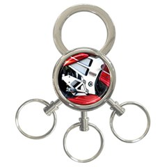 Footrests Motorcycle Page 3-Ring Key Chains