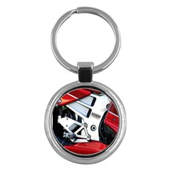 Footrests Motorcycle Page Key Chains (Round)