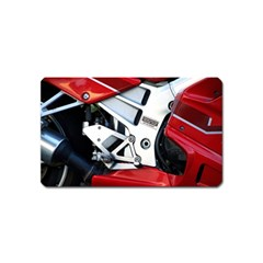 Footrests Motorcycle Page Magnet (name Card)