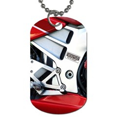 Footrests Motorcycle Page Dog Tag (Two Sides)