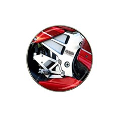 Footrests Motorcycle Page Hat Clip Ball Marker (4 Pack)