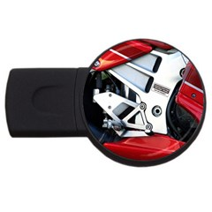 Footrests Motorcycle Page USB Flash Drive Round (4 GB)