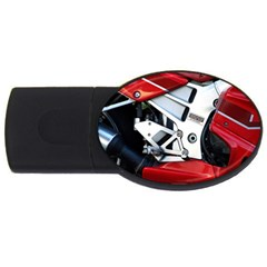 Footrests Motorcycle Page Usb Flash Drive Oval (4 Gb)