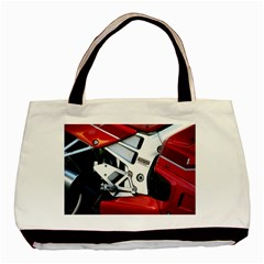 Footrests Motorcycle Page Basic Tote Bag
