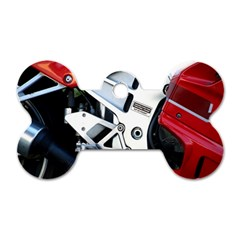 Footrests Motorcycle Page Dog Tag Bone (two Sides)