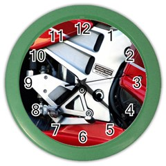Footrests Motorcycle Page Color Wall Clocks