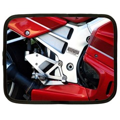 Footrests Motorcycle Page Netbook Case (Large)