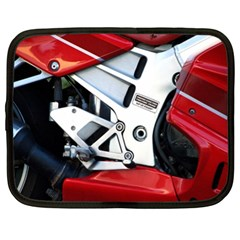 Footrests Motorcycle Page Netbook Case (XL)