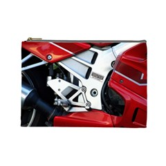 Footrests Motorcycle Page Cosmetic Bag (large)