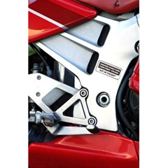 Footrests Motorcycle Page 5.5  x 8.5  Notebooks