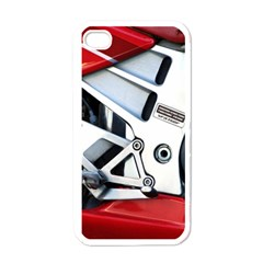 Footrests Motorcycle Page Apple Iphone 4 Case (white)