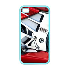 Footrests Motorcycle Page Apple Iphone 4 Case (color)