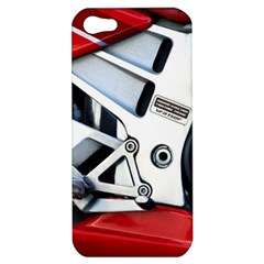 Footrests Motorcycle Page Apple iPhone 5 Hardshell Case